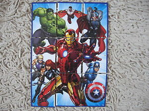 Marvel Avengers Topps HERO ATTAX 2015 HERO PUZZLE Cards 159 - 167 complete set - Kraków, Polska - Marvel Avengers Topps HERO ATTAX 2015 HERO PUZZLE Cards 159 - 167 complete set - Kraków, Polska