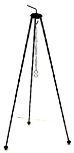 Dutch-Army-Issue-Open-Fire-Tripod-Cooking-Stand-Pot-Hanging-Camping-Outdoor-Bush