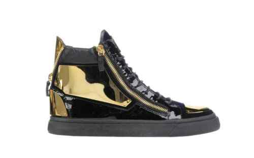 Size 900 Sneakers 5 Black Giuseppe 41 Zanotti And Gold n44qYfwOr