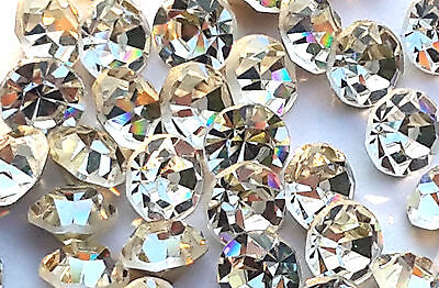 Point-back Crystals, EIMASS® Grade A Foiled Glass Chatons, Diamante, Gems, 3595
