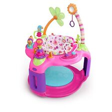 Baby Bouncer Jumper Activities for Babies Pink Girls Safari Seat Play Nursery