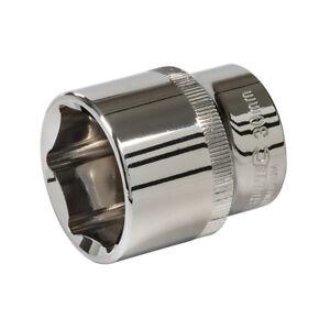 "Silverline 301762 Impact Socket 1//2/"" Drive 6 Point Metric 19mm"