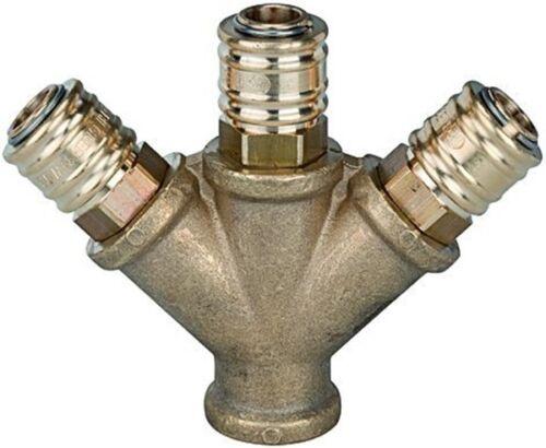 Druckluftanschluss Druckluftkupplung Schlauchanschluß Druckluft Verteiler