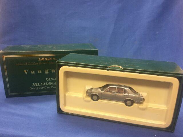 Corgi Vanguards Hillman Avenger 1:43 Ltd. Ed. Pre-Production Raw Metal VA10499