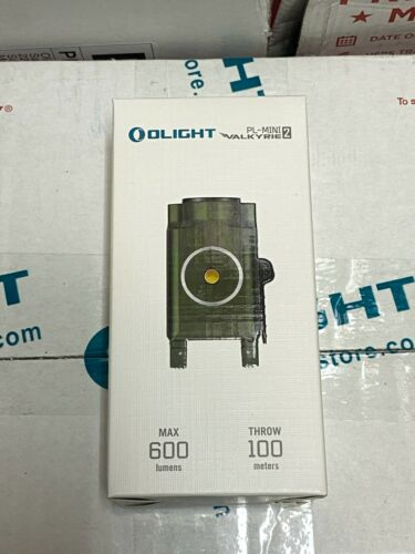 Olight PL-Mini 2 Valkyrie 600 LM diamètre extérieur vert