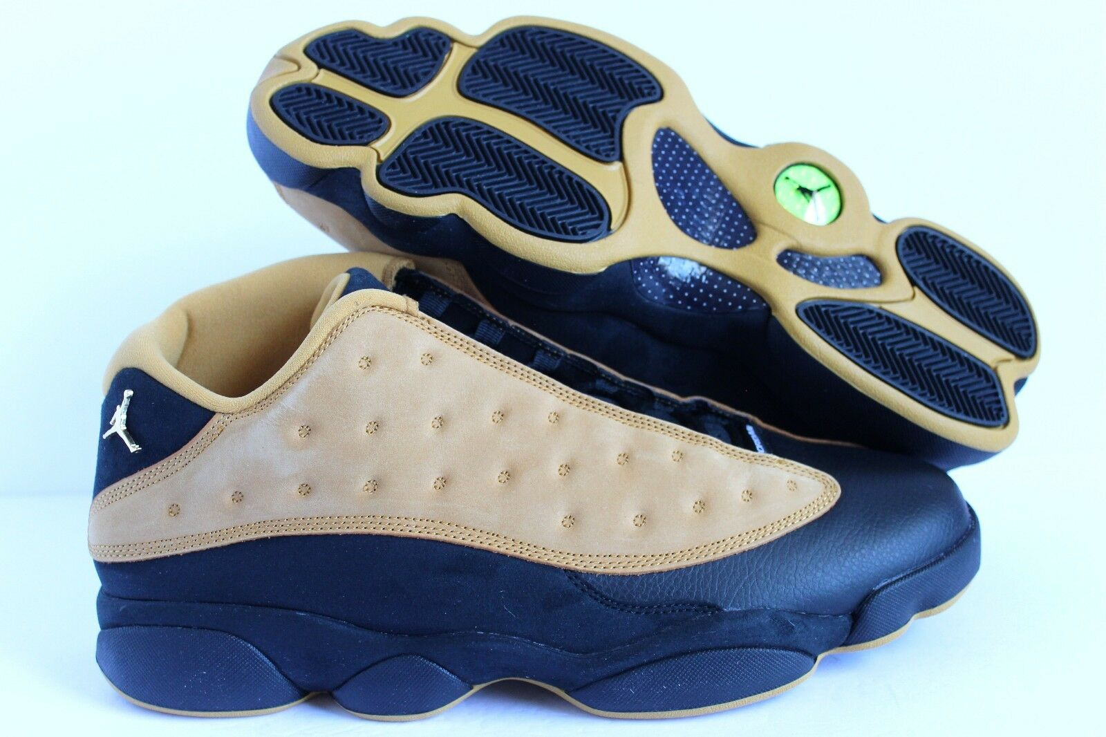 NIKE AIR JORDAN 13 RETRO LOW BLACK-CHUTNEY SZ 11 [310810-022]