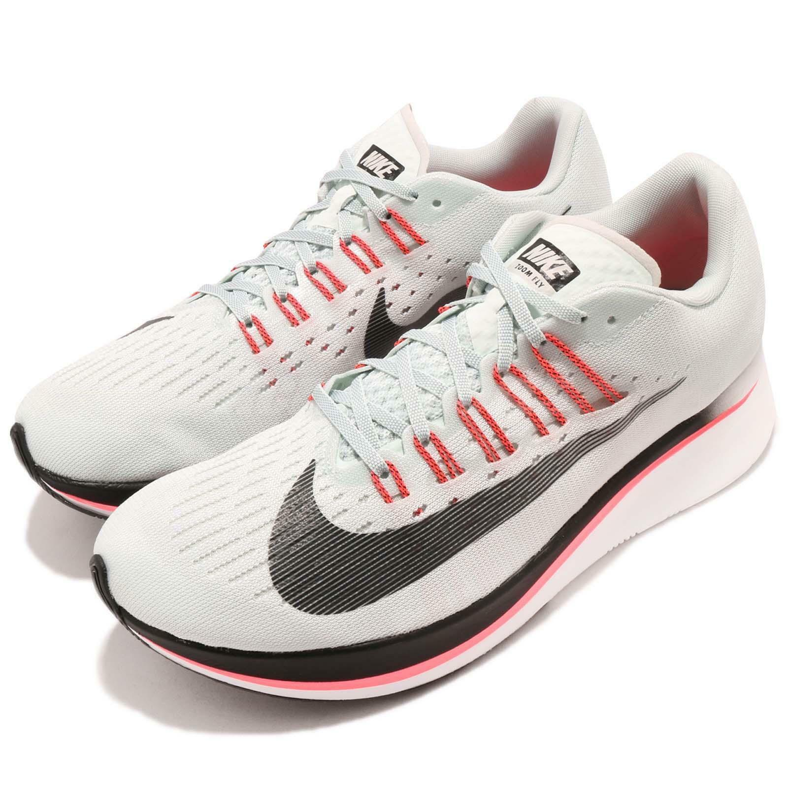 online store 52d1b 3e8b6 ... coupon for nike zoom fly barely gris zoom hot punch blanc homme  fonctionnement chaussures sneakers 880848