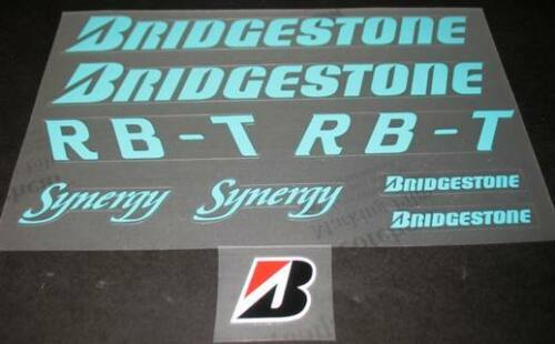 Bridgestone RB-T Synergy Bicycle Decal Set sku Brid-S111
