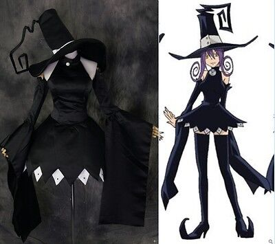 H-174 Soul Eater Blair schwarz black Kleid dress Cosplay Kostüm costume nach Maß