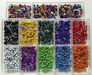 100 map tacks travel map pins 1 box choose colors free usa