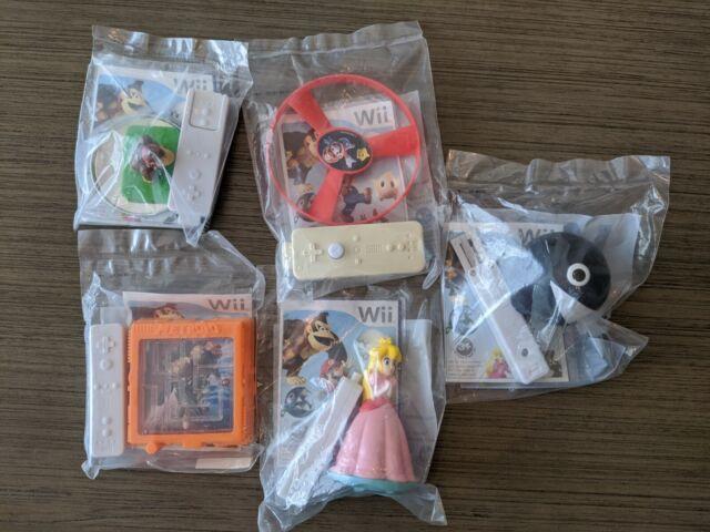 2008 Burger King Toy Nintendo Wii  - Lot of 5