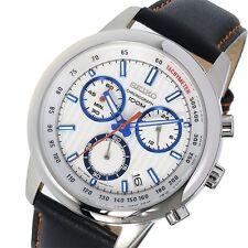 SEIKO Chronograph SSB209P1 Orologio Crono Superior Uomo Leather Men's Watch