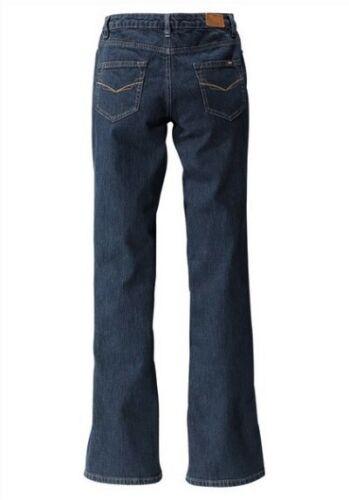 H.I.S Sunny Bootcut Jeans Tg 52-58 l33 Nuovo Donna Pantaloni Stretch Denim his BLU