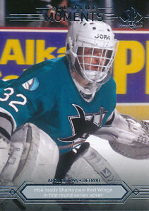 2014-15-SP-Authentic-192-Arturs-Irbe-Base-Set-All-Time-Moments-Subset