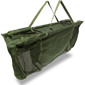 Carp Fishing Captur Weighing Floating Sling With Carry Bag Case 2m Rope Peg NGT