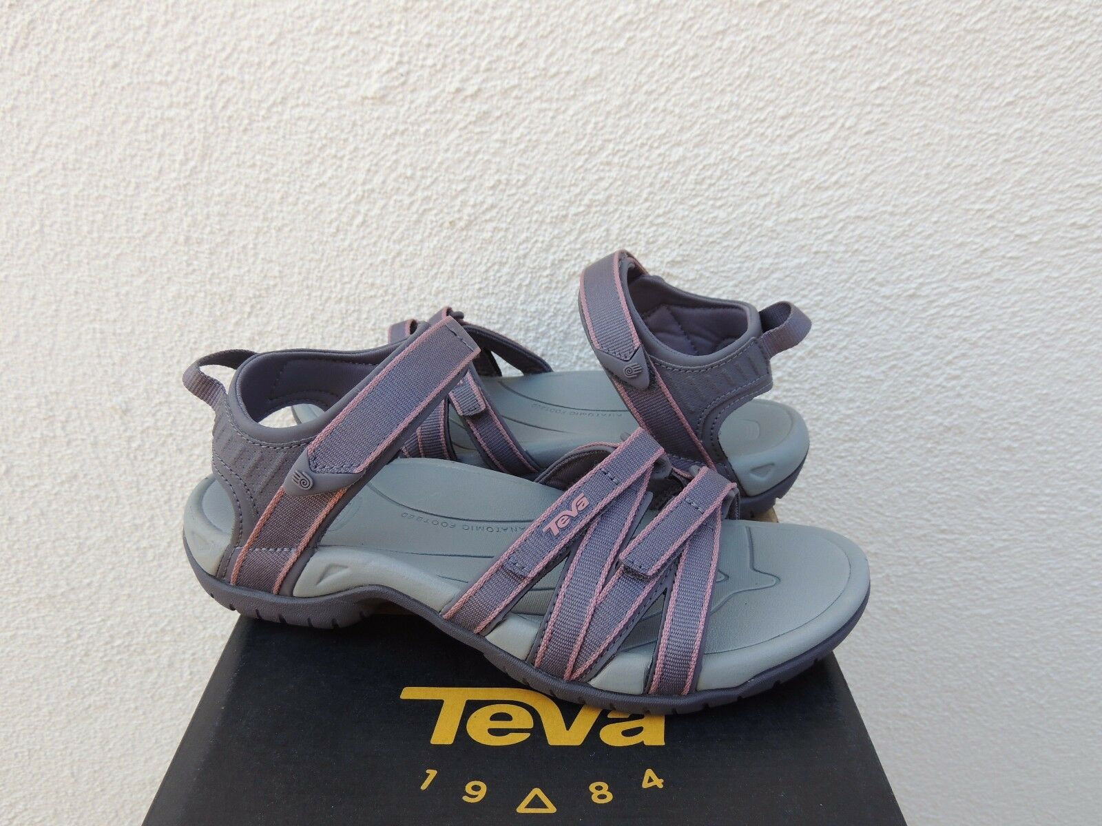 Teva Tirra Dusk Lanières SPORT D'EAU sandales, femme us 7 Eur 38  Neuf avec étiquettes