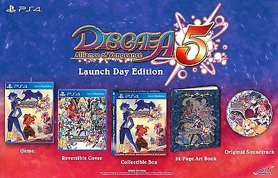 Disgaea 5: Alliance of Vengeance (PlayStation 4) NEW & Sealed