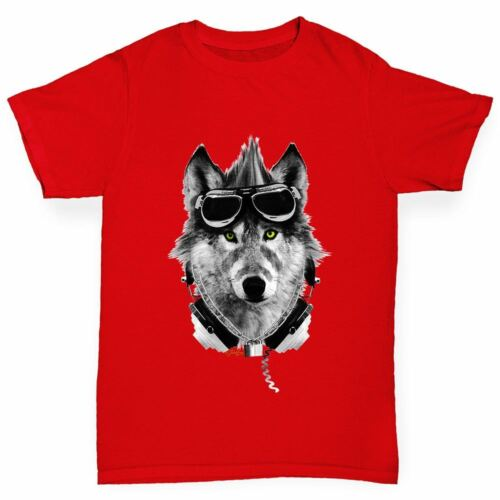 Twisted Envy Rave Wolf Boy/'s Funny T-Shirt