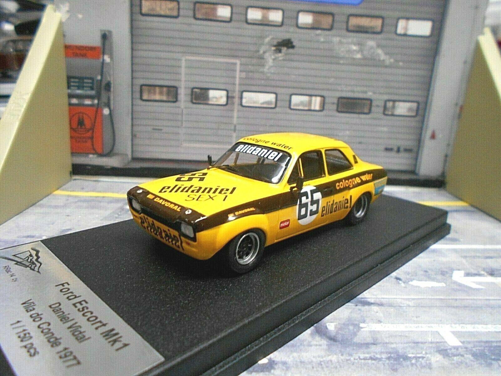 Ford Escort RS 1600 racing Vila do Conde 1977 Vidal eli Trofeu Scala 43 1 43