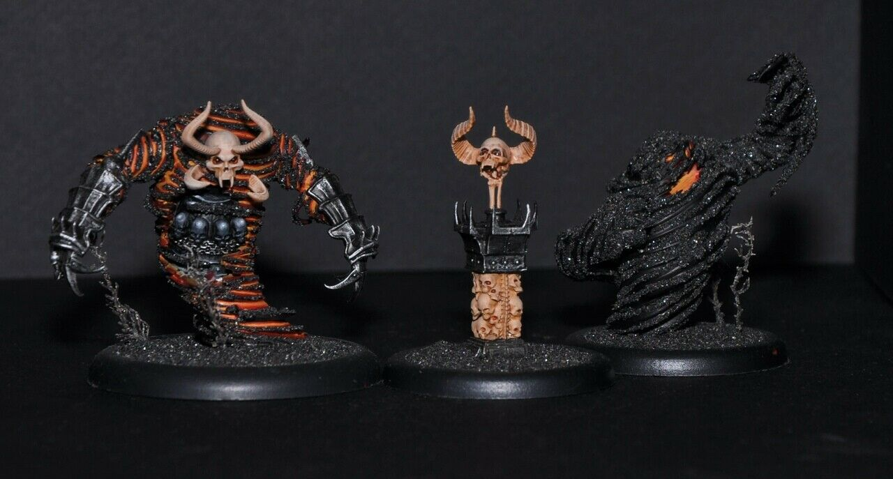 Malifaux Ashes and Dust Pro Painted