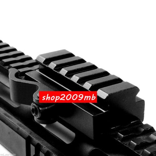 "New QD 3//5/"" Riser Rifle Scope Mount Adapter fit 20mm Picatinny Rail Base"