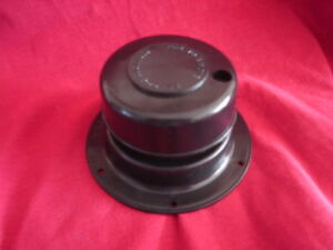 Rv Black Sewer Holding Tank Roof Vent Cap New Camper