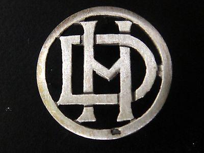 De Confianza Monogrammes Argent Massif Dh Hd Initiale Chiffre Solid Silver Monograms Art Deco Adoptar TecnologíA Avanzada