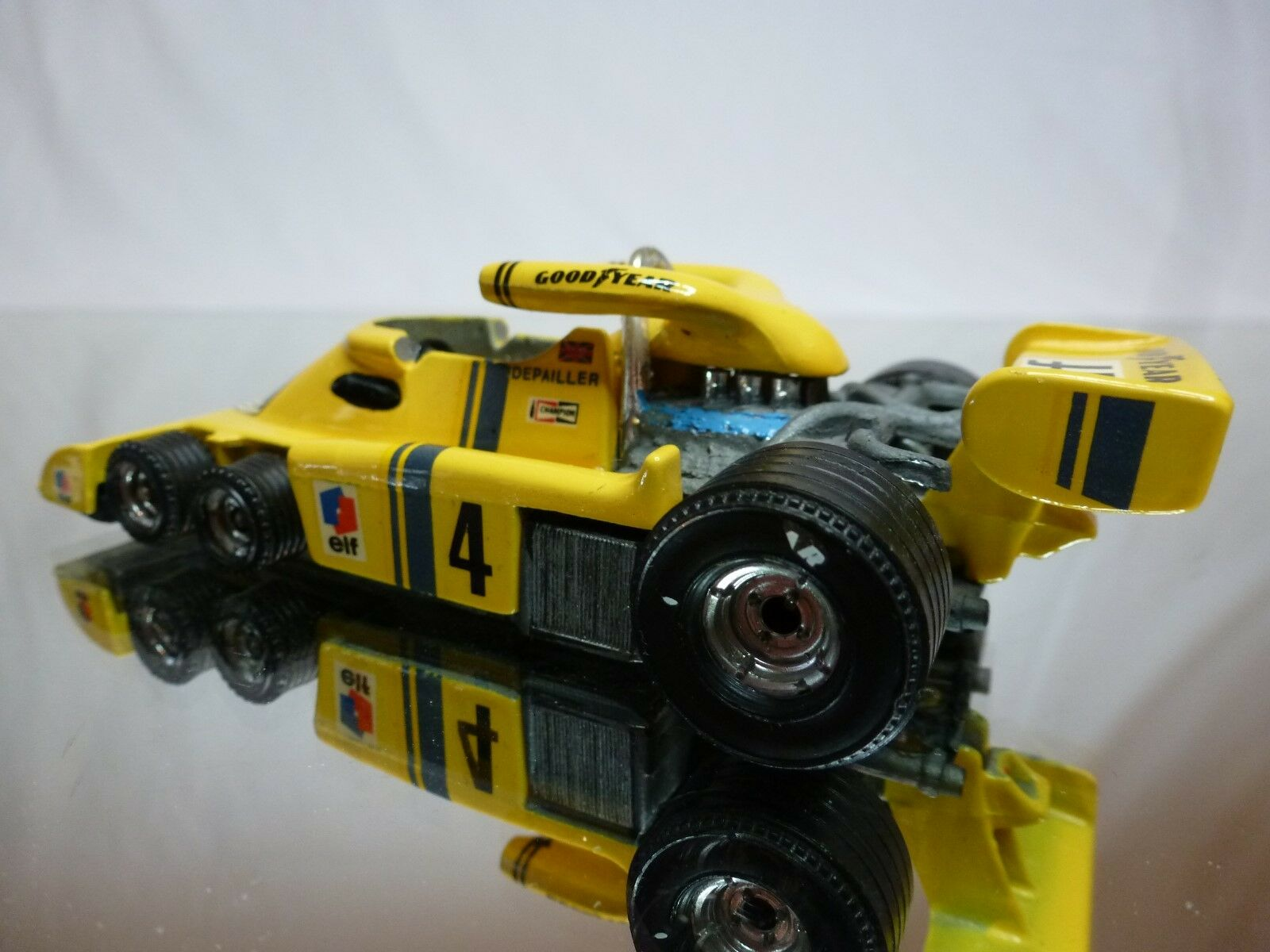CORGI ELF TYRRELL PROJECT 34 - SPECIAL MADE     - YELLOW - NICE CONDITION 20864c