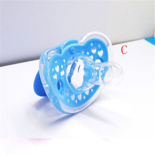 Baby Newborn Dummy Pacifier Soother Silicone Teether Nipple Orthodontic NippleVH