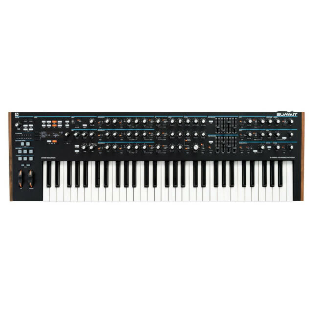 Novation Summit Two-Part 16 Voice Hybrid Polyphonic Synthesiser