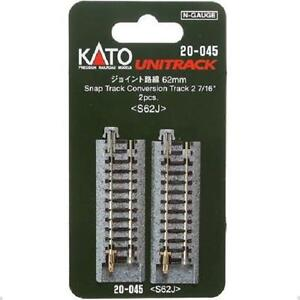 Kato-20-045-Rail-Conversion-Snap-Conversion-Track-62mm-2pcs-N