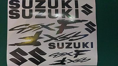 GSXF  Decal/ Sticker Pack -- ALL COLOURS AVAILABLE -- GSX F GSX-F