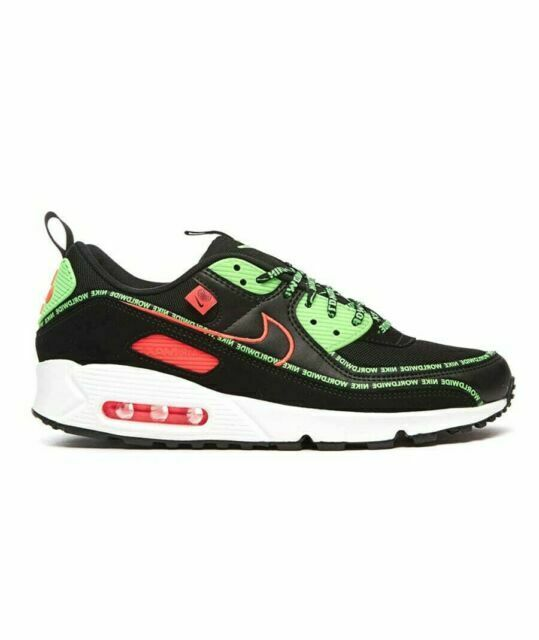 Size 12 - Nike Air Max 90 Worldwide Pack Black for sale online | eBay