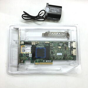Adaptec ASR-6805 6G SAS 512MB Cache 8-lane RAID 0, 1, 5, 6, 10,50 W/ Battery BBU