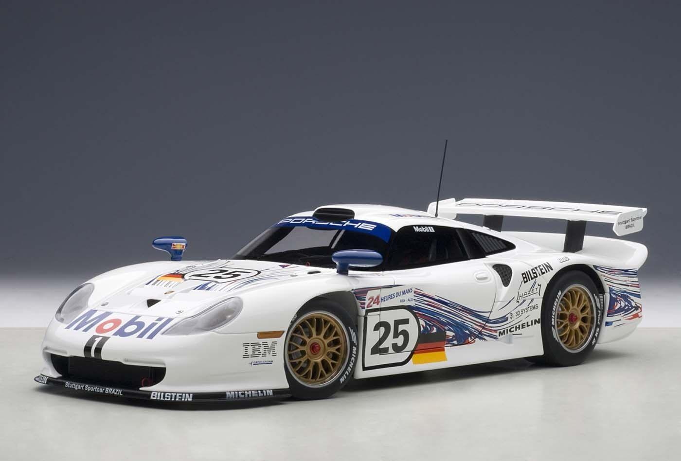 1997 PORSCHE CARRERA GT1 24 Hrs du MANS  25 1 18 byautoart 89772 Brand New in Box
