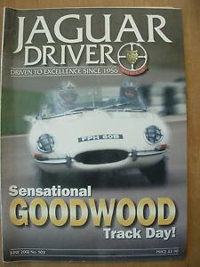 JAGUAR-DRIVER-MAGAZINE-No-503-JUNE-2002-GOODWOOD-TRACK-DAY