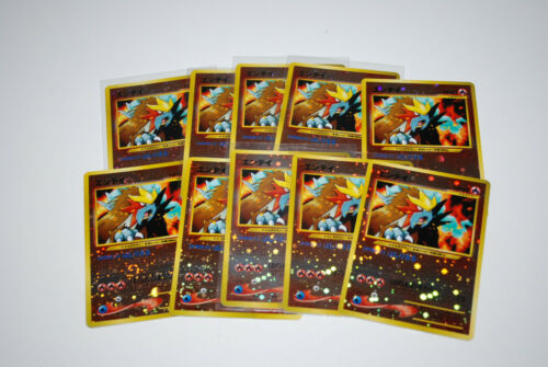 Entei Reverse Holo #244 Japanese Neo Premium File  Pokemon Card MINT