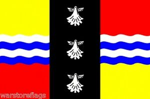 BEDFORDSHIRE-COUNTY-FLAG-5-X-3-DUNSTABLE-LUTON-SANDY-ENGLAND-UK-BRITAIN