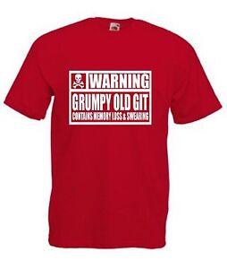 WARNING-GRUMPY-OLD-GIT-CONTAINS-MEMORY-LOSS-AND-SWEARING-T-SHIRT-Funny-Dad