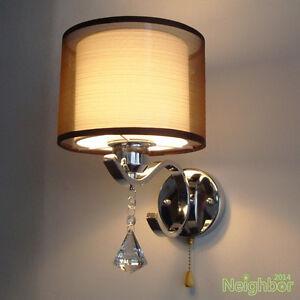Modern-Crystal-LED-Wall-Lamp-Cloth-Wall-sconce-light-Bedroom-bedside-lighting