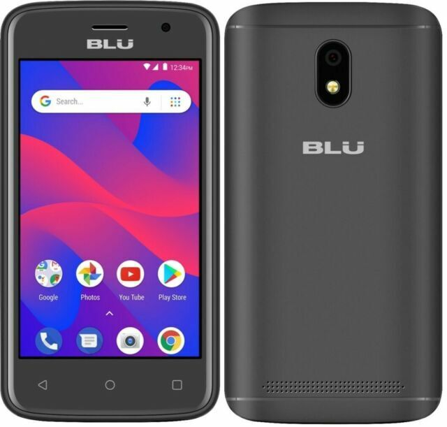 Blu C4 Android Cell Phone Unlocked Dual Sim Smartphone 8gb Iob For Sale Online Ebay
