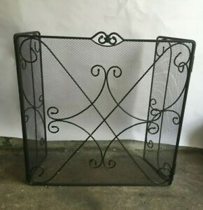 Details About Longaberger Wrought Iron Fireplace Screen