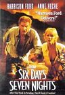 Six Days Seven Nights 0717951000866 With Harrison Ford DVD Region 1