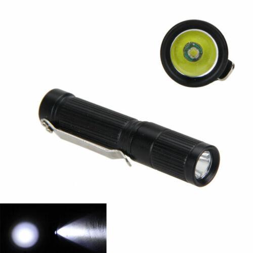 1pc//5pcs Portable MINI 300LM R5 LED Pocket Flashlight Torch Hunting AAA//10440