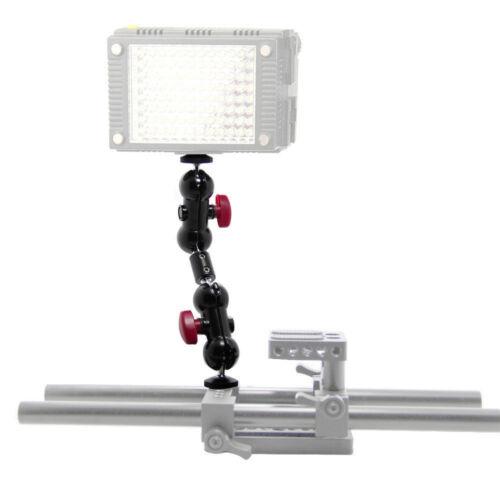 """Brazo de extensión camvate Max 17.7cm 360 1//4/"""" montaje para DSLR Vídeo Digital de Video Monitor de luz"""