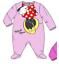 Baby-Boys-Girls-Character-100-Cotton-Sleepsuit-Babygrow-Pyjamas-Minnie-Mickey thumbnail 8