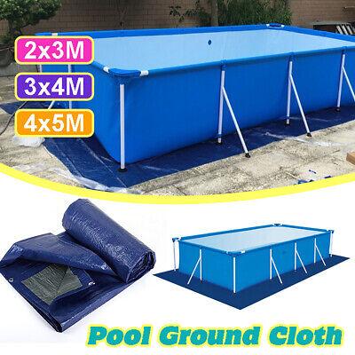 Round Swimming Pool Floor Mat Coves Ground Dustproof  Fabric Carpet Outdoor Yard