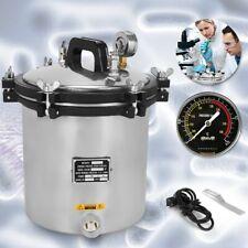 18l Steam Autoclave Sterilizer Tattoo Dental Lab Equipment Hq New