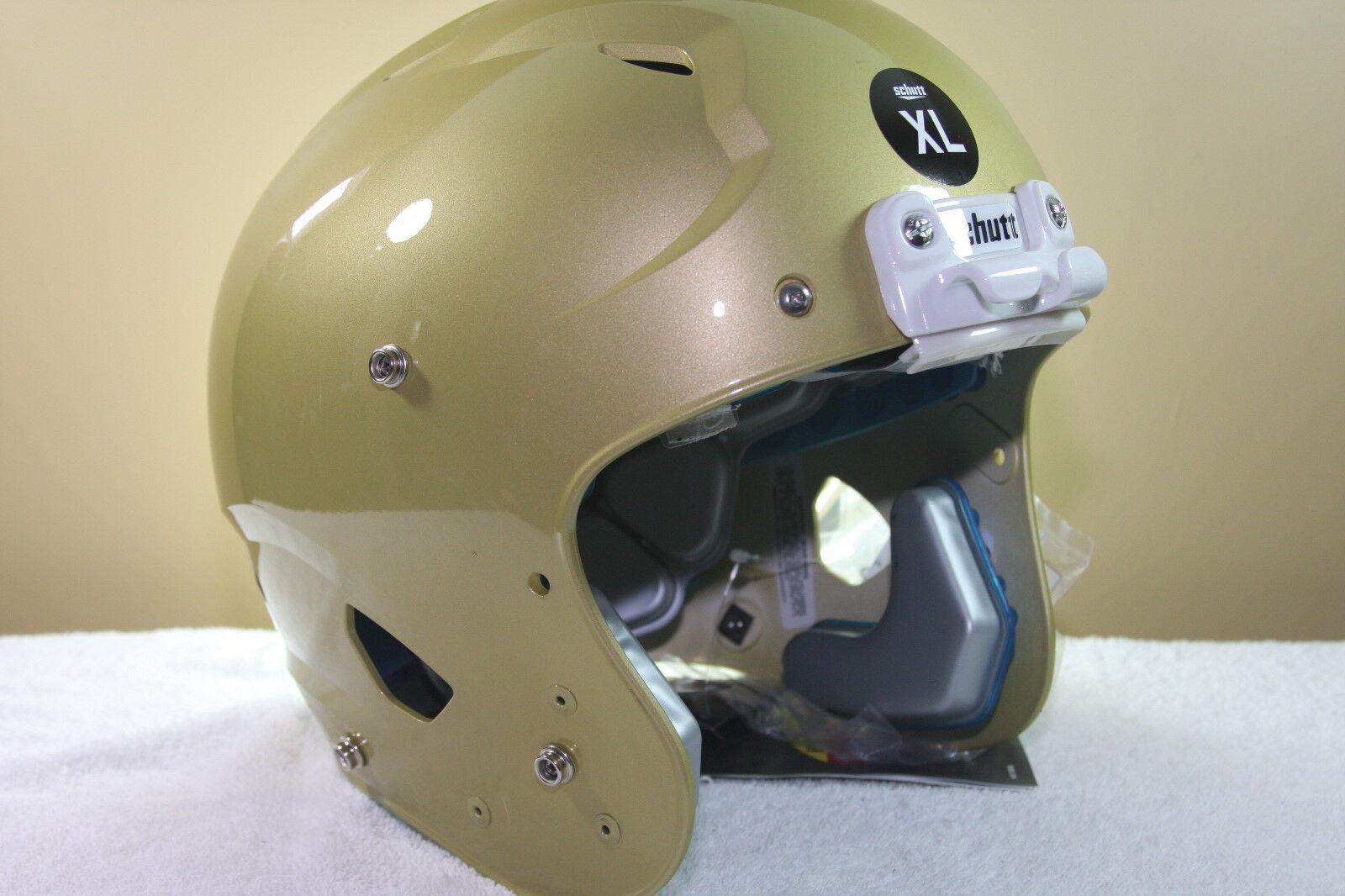 Schutt YOUTH Football Helmet VENGEANCE Metallic gold New 2017 X-Large XL 213