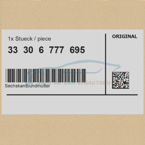 Sechskantbundmutter M12X1,5-10-ZNS3 Original Mini 33306777695